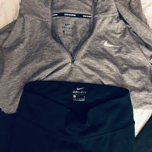 Nike set - leggings and pull over sweater